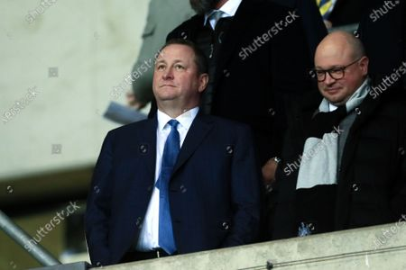 Newcastle owner Mike Ashley attends the FA Cup Fourth Round replay between Oxford United and Newcastle United at the Kassam Stadium, Oxford on Tuesday 4th February 2020.