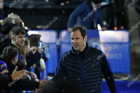 Petr Cech during the Premier League match between Chelsea FC and Manchester United at Stamford Bridge on February 17, 2020 in London, United Kingdom.