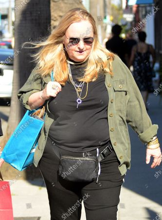 Exclusive - Melissa Etheridge is seen out in Venice