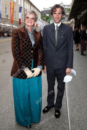 Gloria von Thurn und Taxis and Pierre Pelegri