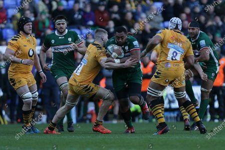 Editorial image of London Irish v Wasps - Rugby Premiership, United Kingdom - 01 Mar 2020