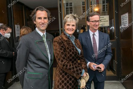 Pierre Pelegry, Thaddaeus Ropac and Gloria von Thurn und Taxis