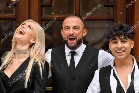 Nadiya Bychkova, Robin Windsor and Karim Zeroual