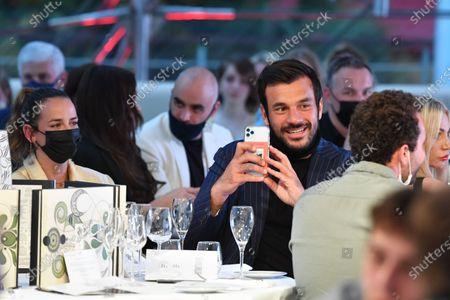 Pauline Ducruet and boyfriend - Amber Lounge Fashion Monaco 2021, charity auction to help disabled children at Grimaldi Forum.