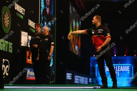 Editorial picture of PDC Darts, Day 3, Milton Keynes, UK - 26 May 2021