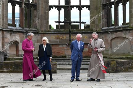 Editorial picture of Prince Charles and Camilla Duchess of Cornwall visit to Coventry, UK - 25 May 2021