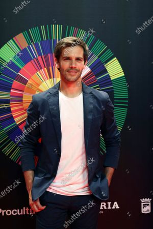 Marc Clotet poses during a photocall to present the 24th edition of the Malaga Festival Film Festival, in Madrid, Spain, 25 May 2021. The Malaga Film Festival will run from 04 to 13 June 2021.