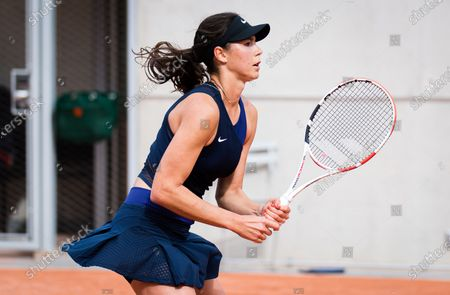 Stock Picture of Natalia Vikhlyantseva of Russia in action during the first qualifications round at the 2021 Roland Garros Grand Slam Tournament