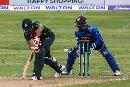 Editorial photo of Bangladesh v Sri Lanka - 2nd ODI Cricket, Dhaka - 25 May 2021