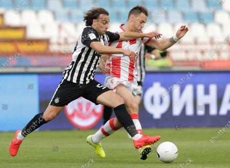 Editorial photo of Red Star vs Partizan, Belgrade, Serbia - 25 May 2021