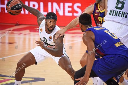 Stock Picture of Marcus Foster during the match between FC Barcelona and Panathinaikos BC, corresponding to the week 4 of the Euroleague, played at the Palau Blaugrana, on 15th October 2020, in Barcelona, Spain. Photo: Noelia Deniz/Urbanandsport/NurPhoto --