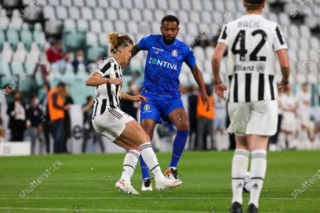 Stock Picture of Maicon during the Partita Del Cuore charity football match at Allianz Stadium on May 25, 2021 iin Turin, Italy.