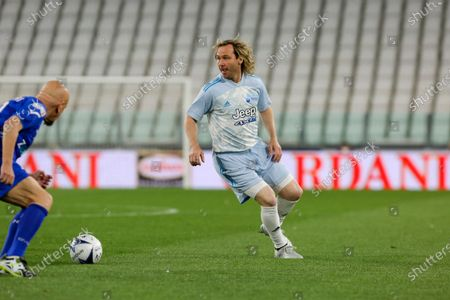 Pavel Nedved during the Partita Del Cuore charity football match at Allianz Stadium on May 25, 2021 iin Turin, Italy.