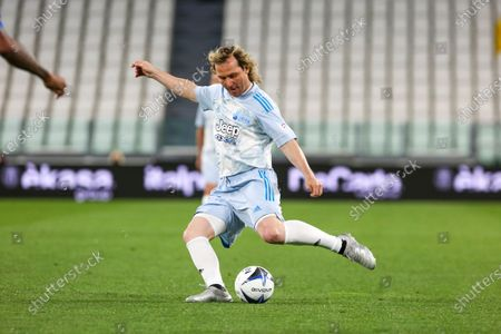 Stock Photo of Pavel Nedved during the Partita Del Cuore charity football match at Allianz Stadium on May 25, 2021 iin Turin, Italy.