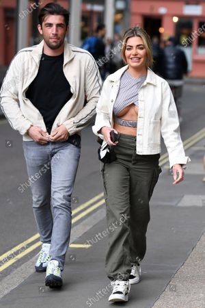 Jack Fincham & Megan Barton Hanson at Bauer Media, Countdown to Love Island