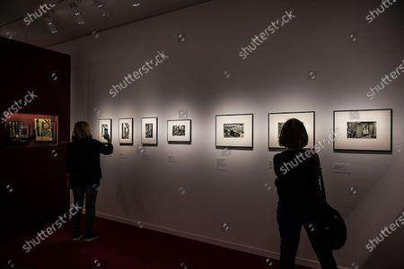 Editorial photo of Marc Riboud retrospective, Paris, France - 26 May 2021