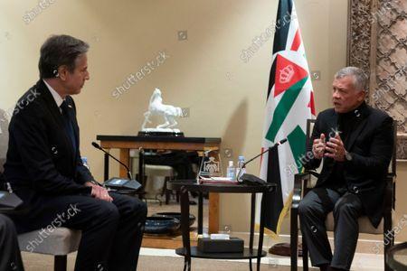 Editorial image of US Blinken, Amman, Jordan - 26 May 2021