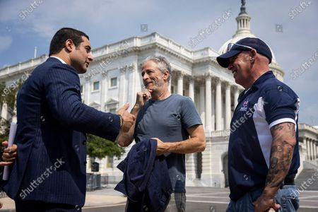 Editorial picture of Jon Stewart, Rep Takano address toxic exposure, Washington, USA - 26 May 2021