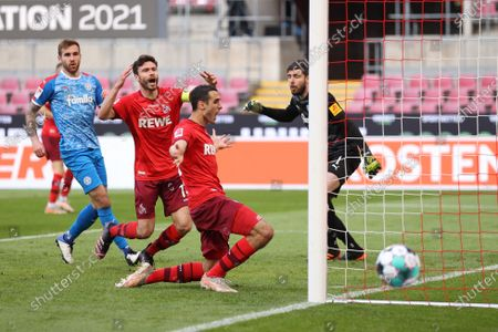 Editorial photo of FC Cologne vs Holstein Kiel, Germany - 26 May 2021