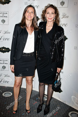 Marisa Berenson (right) and daughter Starlite Randall (left)