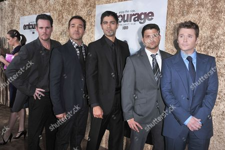 Kevin Dillon, Jeremy Piven, Adrian Grenier, Jerry Ferrera and Kevin Connolly