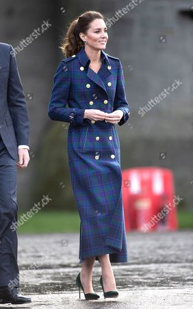 Prince William and Catherine Duchess of Cambridge, The Duke and Catherine Duchess of Cambridge, at a special drive-in cinema to watch a screening of Disney's Cruella at the Palace of Holyroodhouse in Scotland, United Kingdom.Disney's