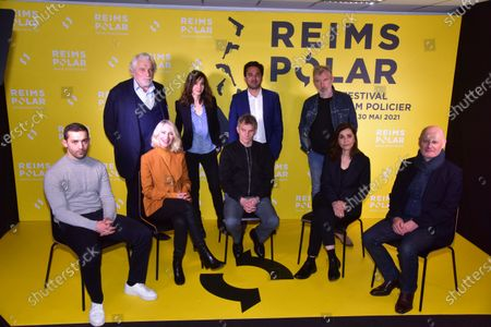 Editorial image of Reims Polar Film Festival, Photocall, Paris, France - 26 May 2021