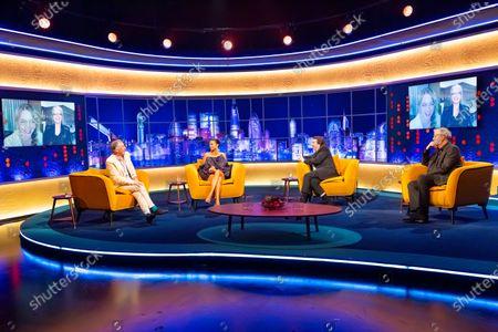 Steve Coogan, Alesha Dixon, Jonathan Ross, Emma Stone, Emma Thomson and Jeremy Clarkson