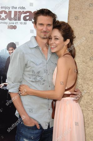 Autumn Reeser and husband Jesse Warren