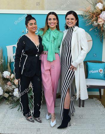 Natalie Morales, Kuhoo Verma, Victoria Moroles