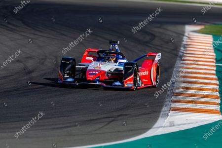 64 D'AMBROSIO Jerome (bel), Mahindra Racing, action during the ABB Formula E Championshop official pre-season test of season six at Circuit Ricardo Tormo in Valencia on October 15, 16, 17 and 18 of 2019 of 2019, Spain.