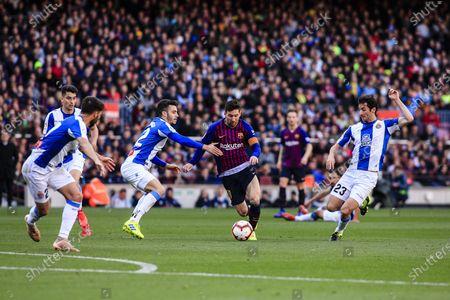 Editorial photo of FC Barcelona v RCD Espanyol - La Liga, Spain - 27 May 2021