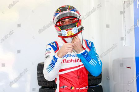 D'AMBROSIO Jerome (bel), Mahindra Racing, portrait during the ABB Formula E Championshop official pre-season test of season six at Circuit Ricardo Tormo in Valencia on October 15, 16, 17 and 18 of 2019, Spain.