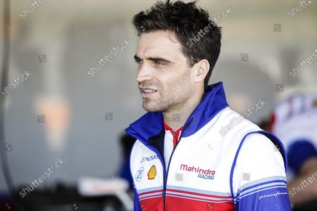 Stock Picture of D'AMBROSIO Jerome (bel), Mahindra Racing, portrait during the ABB Formula E Championshop official pre-season test of season six at Circuit Ricardo Tormo in Valencia on October 15, 16, 17 and 18 of 2019, Spain.