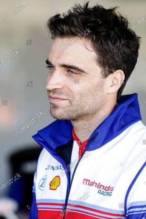 Stock Image of D'AMBROSIO Jerome (bel), Mahindra Racing, portrait during the ABB Formula E Championshop official pre-season test of season six at Circuit Ricardo Tormo in Valencia on October 15, 16, 17 and 18 of 2019, Spain.