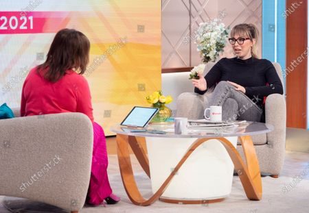 Editorial photo of 'Lorraine' TV Show, London, UK - 27 May 2021