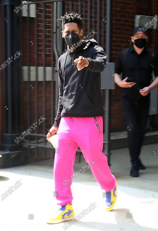Editorial photo of Celebrities depart the CBS Studios, New York, USA - 26 May 2021