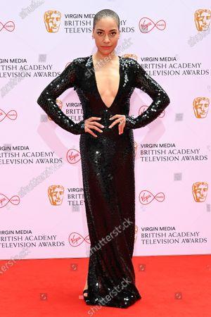 Editorial image of Virgin Media British Academy Television Awards, Arrivals, London, UK - 06 Jun 2021