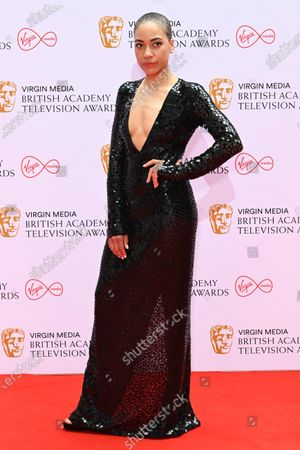 Editorial picture of Virgin Media British Academy Television Awards, Arrivals, London, UK - 06 Jun 2021