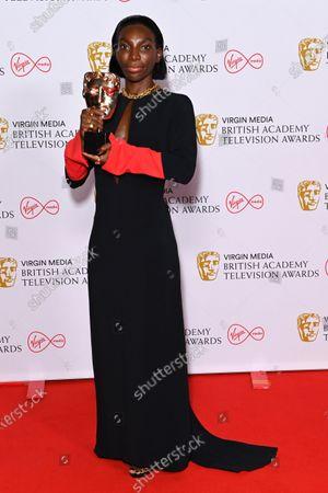 Editorial image of Virgin Media British Academy Television Awards, Winners Press Room, London, UK - 06 Jun 2021