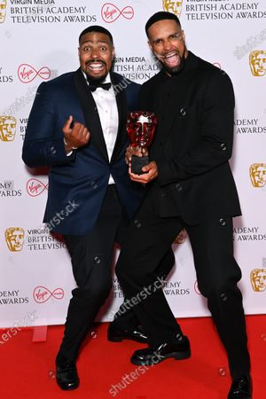 Stock Photo of Virgin Media's Must-see Moment - Britain's Got Talent Diversity Perform A Routine Inspired By The Events Of 2020 - Ashley Banjo And Jordan Banjo
