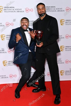 Stock Picture of Virgin Media's Must-see Moment - Britain's Got Talent Diversity Perform A Routine Inspired By The Events Of 2020 - Ashley Banjo And Jordan Banjo
