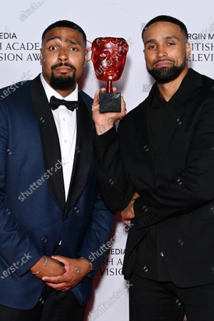 Stock Image of Virgin Media's Must-see Moment - Britain's Got Talent Diversity Perform A Routine Inspired By The Events Of 2020 - Ashley Banjo And Jordan Banjo