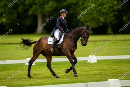 Editorial photo of Saracen Horse Feeds, Houghton International Horse Trials - Day 1, Houghton Hall, Norfolk. UK. 27 MAY 2021