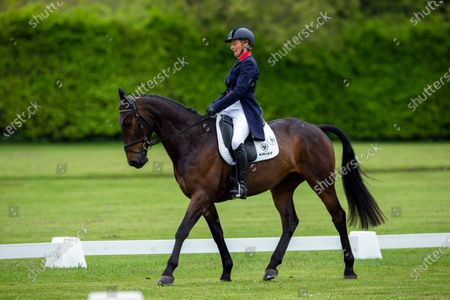 Mary King (GBR) on King Cyrus in the Dressage CCI-L 2* Section A