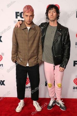 Twenty One Pilots - Tyler Joseph and Josh Dun