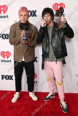 Twenty One Pilots - Tyler Joseph and Josh Dun - Alternative Rock Song of the Year, 'Level of Concern'