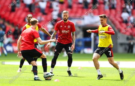 Editorial picture of Brentford v Swansea City, EFL Sky Bet Championship, Playoffs, Final, Football, Wembley Stadium, London, UK - 29 May 2021
