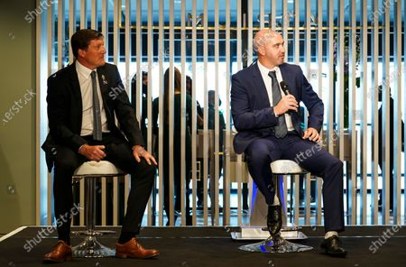 Commercial and marketing - Jim White hosts a Q & A in The Atrium with Grant Brown and Gary Taylor-Fletcher