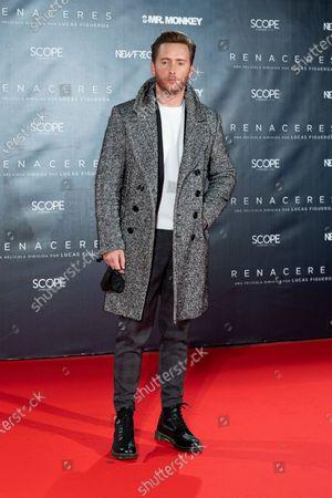 Pablo Rivero attends 'Renaceres' premiere at Gran Teatro Principe Pio